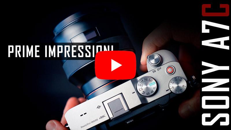 VIDEO: Sony A7C: prime impressioni e considerazioni