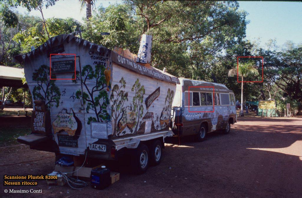 Australia, camping. Plustek OpticFilm 8200i (7200 dpi)