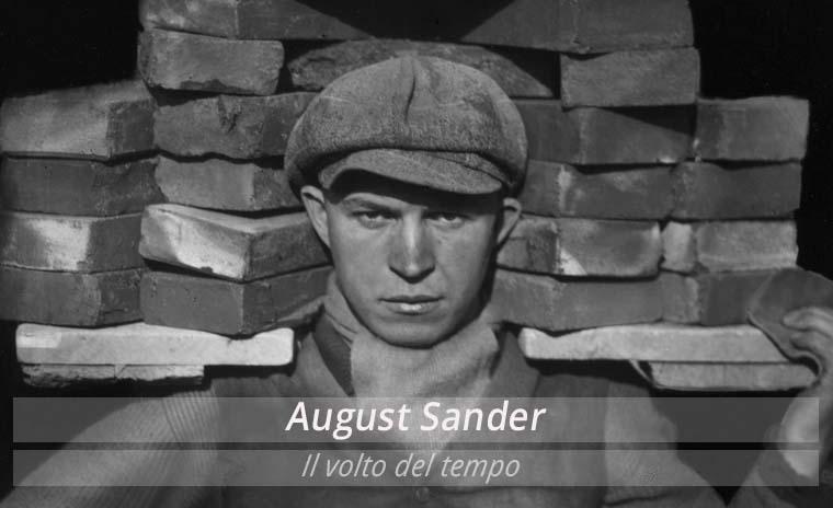 August Sander, Il volto del tempo