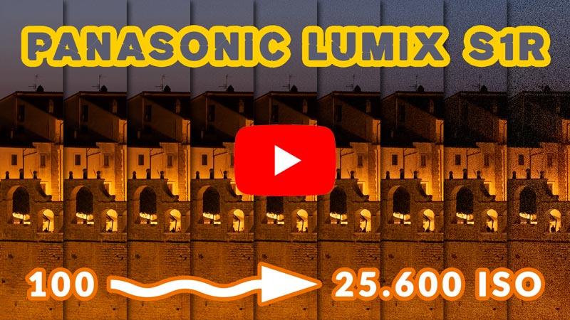 VIDEO: Panasonic Lumix S1R: test sensibilità ISO in fotografia notturna
