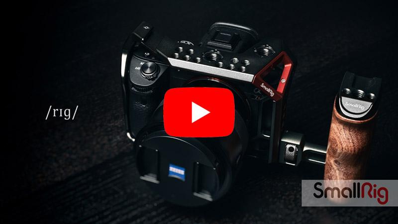 VIDEO: RIG base SmallRig: Cage + Handle (gabbia + maniglia) - Sony A7 iii/A7R iii - Nuove versioni