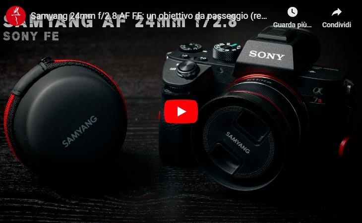 Samyang 24 mm f/2.8 | Recensione