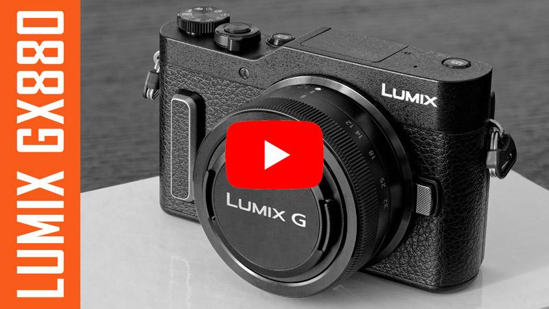 VIDEO: Panasonic Lumix GX880 una compatta a ottiche intercambiabili (Recensione)