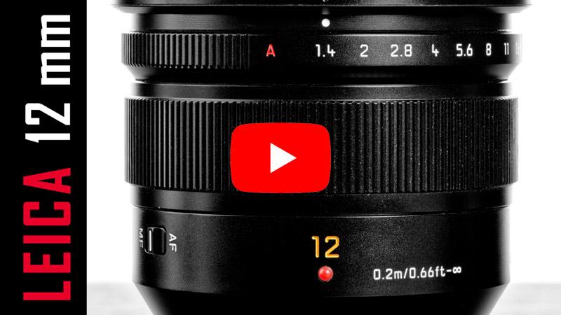 VIDEO: Leica 12mm f/1.4