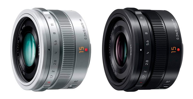 Leica 15 mm: versione argento e nero