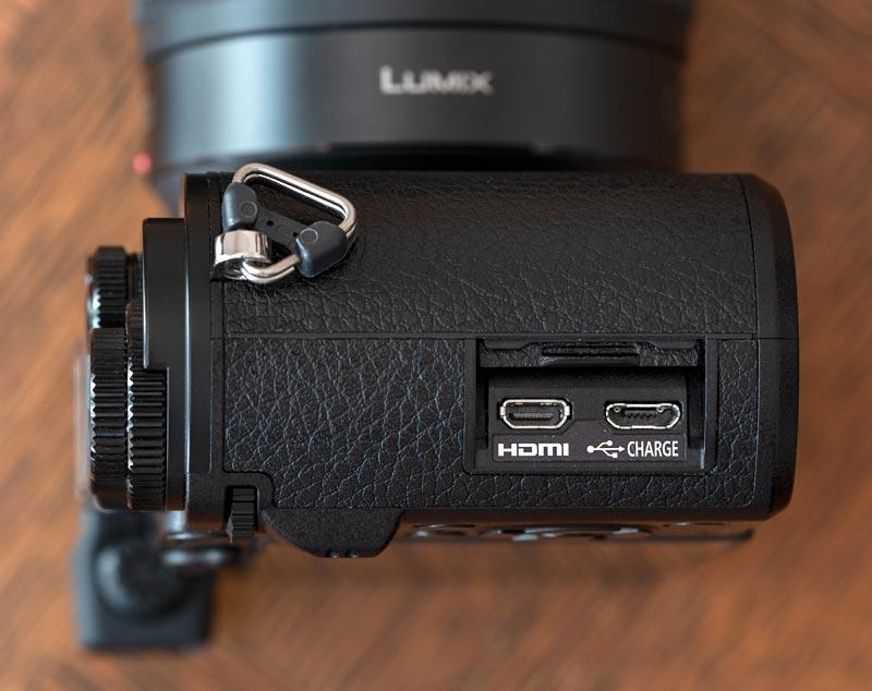 Lumix GX9 - porte hdmi e usb