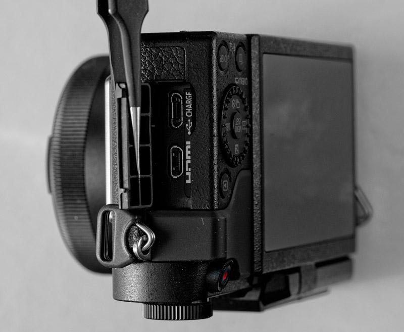 Panasonic Lumix GX880 (connettori)