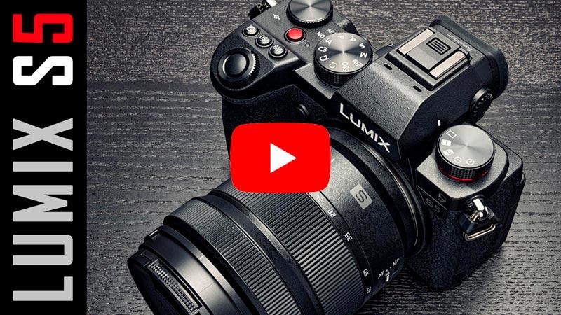 VIDEO: Panasonic Lumix S5   Recensione
